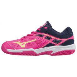 Mizuno Buty Tenisowe Break Shot Ex Cc (W) Pinkglo/Syellow/Peacoat 40.5/7.0. Czerwone buty do fitnessu damskie marki Mizuno. W wyprzedaży za 249,00 zł.