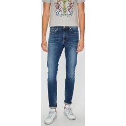Calvin Klein Jeans - Jeansy. Niebieskie jeansy męskie slim marki Calvin Klein Jeans, z bawełny. Za 449,90 zł.