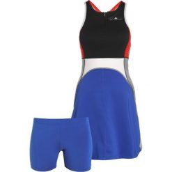 Adidas by Stella McCartney DRESS SET Sukienka sportowa black/boblue. Czarne sukienki sportowe adidas by Stella McCartney, s, z elastanu, sportowe. W wyprzedaży za 356,30 zł.