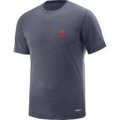 Salomon Koszulka męska  Explore SS Te Graphite r.  XL (400965). Szare koszulki sportowe męskie Salomon, m. Za 81,51 zł.
