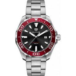 ZEGAREK TAG HEUER AQUARACER WAY101B.BA0746. Czarne zegarki męskie marki KALENJI, ze stali. Za 6990,00 zł.