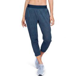 Spodnie sportowe damskie: Under Armour Spodnie damskie TB Balance Mesh Loose Crop granatowe r. S (1305469-408)