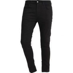YOURTURN Jeans Skinny Fit black denim. Czarne jeansy męskie YOURTURN. Za 149,00 zł.