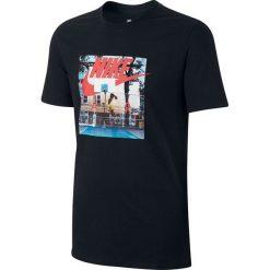 Nike Koszulka NSW TEE AIR HYBRID PHOTO czarna r. XL (847533 010-S). Czarne t-shirty męskie Nike, m. Za 118,75 zł.