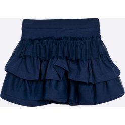Blukids - Spódnica dziecięca 98-128 cm. Fioletowe minispódniczki marki OLAIAN, z elastanu, sportowe. W wyprzedaży za 34,90 zł.