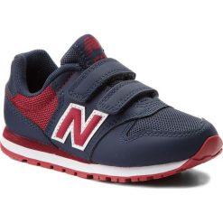 Trampki chłopięce: Sneakersy NEW BALANCE – KV500NSY Granatowy