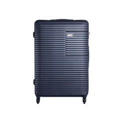 Walizka Madryt 102L Granatowa (MADRYT 28 BLU). Szare walizki marki VIP COLLECTION. Za 350,00 zł.