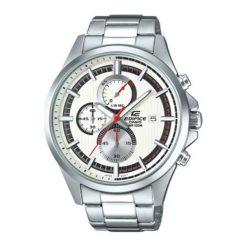 """Zegarek """"EFV-520D-7AVUEF"""" w kolorze srebrnym. Szare, analogowe zegarki męskie Lacoste, srebrne. W wyprzedaży za 322,95 zł."""