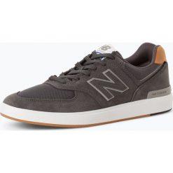 New Balance - Tenisówki męskie z dodatkiem skóry, szary. Szare tenisówki męskie New Balance, z materiału. Za 249,95 zł.