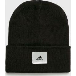 Adidas Performance - Czapka. Czarne czapki zimowe męskie adidas Performance, z dzianiny. Za 89,90 zł.