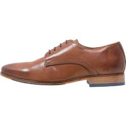 Salamander STEEL Eleganckie buty cognac. Brązowe buty wizytowe męskie Salamander, z materiału, na sznurówki. Za 409,00 zł.