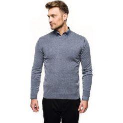 Sweter nagel półgolf niebieski. Niebieskie swetry klasyczne męskie Recman, m, z golfem. Za 169,00 zł.