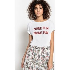 T-shirty damskie: Bawełniany t-shirt MARIE