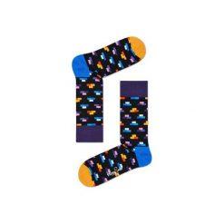 Skarpetki Happy Socks  BRI01-9001. Szare skarpetki męskie marki Happy Socks, z bawełny. Za 24,43 zł.