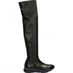 Kozaki - V080 NER-BLU. Żółte buty zimowe damskie marki Venezia, ze skóry. Za 149,00 zł.