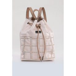 Plecaki damskie: Plecak zdobiony dżetami
