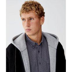 Koszula basic z flaneli w pepitkę. Szare koszule męskie Pull&Bear, m. Za 89,90 zł.