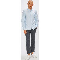 Medicine - Koszula Monumental. Szare koszule męskie na spinki marki S.Oliver, l, z bawełny, z włoskim kołnierzykiem, z długim rękawem. W wyprzedaży za 79,90 zł.