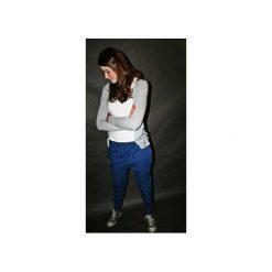 SPODNIE 2 BUTTONS JEANS PANTS UNISEX. Brązowe jeansy męskie marki N/A, w kolorowe wzory. Za 399,00 zł.