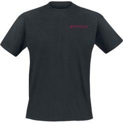 Dickies Midfield T-Shirt czarny. Szare t-shirty męskie marki Dickies, na zimę, z dzianiny. Za 62,90 zł.