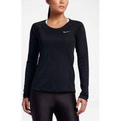 Nike Koszulka damska Dry Miler Top LS czarna r. L (831540-010). Czarne topy sportowe damskie Nike, l. Za 107,18 zł.