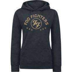 Foo Fighters Arched Star Bluza z kapturem damska czarny. Czarne bluzy rozpinane damskie Foo Fighters, l, z kapturem. Za 164,90 zł.