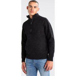 GStar EMPRAL HALF ZIP KNIT L/S Sweter dark black/raven. Szare kardigany męskie marki G-Star, l, z bawełny. W wyprzedaży za 454,30 zł.
