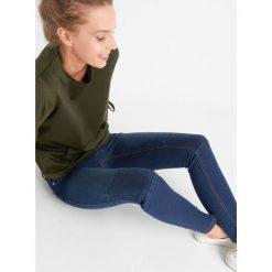 Odzież damska: Jegginsy z fakturą na kolanach