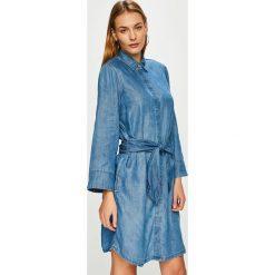 Tommy Hilfiger - Sukienka. Niebieskie sukienki mini TOMMY HILFIGER, na co dzień, z lyocellu, casualowe. Za 649,90 zł.