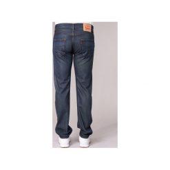 Jeansy straight leg Levis  501 THE ORIGINAL. Brązowe jeansy męskie marki Levi's®, l, z materiału. Za 439,00 zł.