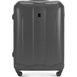 Walizka duża 56-3A-373-00. Szare walizki marki Wittchen, z gumy, duże. Za 199,00 zł.