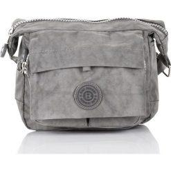 Torba listonoszka, Lekka na ramię. Szare torby na ramię męskie marki Bag Street, w paski, na ramię, małe. Za 49,90 zł.