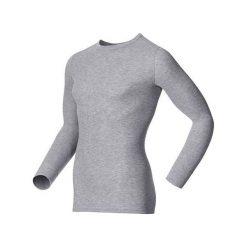 Odlo Koszulka termoaktywna Odlo Shirt l/s crew neck Warm szara r. XL (152022). Szare bluzki sportowe damskie marki Odlo, l. Za 126,36 zł.