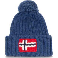 Czapka NAPAPIJRI - Semiury 1 N0YGSE Medium Blue BC4. Szare czapki męskie marki Napapijri, z dzianiny. W wyprzedaży za 139,00 zł.