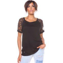"""T-shirty damskie: Koszulka """"Mirna"""" w kolorze czarnym"""