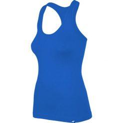 Damski top sportowy 4F Easy Blue. Czarne topy sportowe damskie marki Astratex, z mikrofibry, z dekoltem na plecach. Za 40,99 zł.