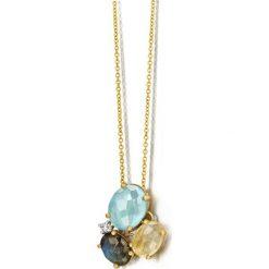 Naszyjniki damskie: Unikalny Naszyjnik – złoto żółte 750, Aquamarine…