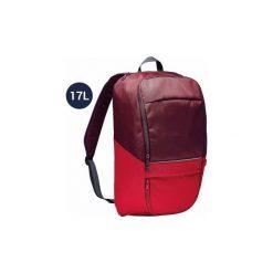 Plecak do sportów zespołowych Kipocket 17 L. Czarne plecaki męskie marki KIPSTA, m, z elastanu, z długim rękawem, na fitness i siłownię. Za 24,99 zł.