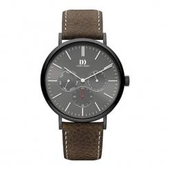 """Zegarek """"IQ14Q1233"""" w kolorze brązowo-czarnym. Brązowe, analogowe zegarki męskie NIXON & ESPRIT, ze stali. W wyprzedaży za 629,95 zł."""