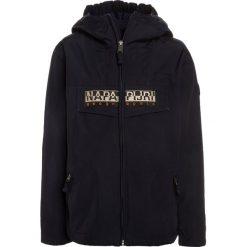 Napapijri RAINFOREST  Kurtka Outdoor blu marine. Niebieskie kurtki chłopięce marki Napapijri, z bawełny. Za 589,00 zł.