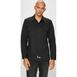 Dickies - Koszula. Szare koszule męskie na spinki marki Dickies, z bawełny. Za 219,90 zł.
