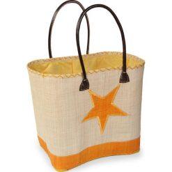 Duża torba plażowa Estrella. Brązowe torby plażowe marki Astratex. Za 107,99 zł.