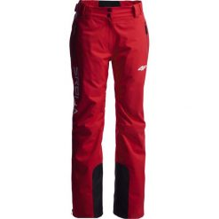 Bryczesy damskie: Spodnie narciarskie damskie Serbia Pyeongchang 2018 SPDN700 - czerwony wiśniowy