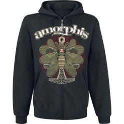 Bluzy męskie: Amorphis The Bee Bluza z kapturem rozpinana czarny