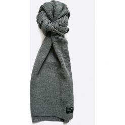 Jack & Jones - Szalik. Czarne szaliki męskie marki Jack & Jones, l, z bawełny, z klasycznym kołnierzykiem, z długim rękawem. W wyprzedaży za 49,90 zł.