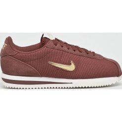 Nike - Buty Cortez Basic Jewel 1. Brązowe buty sportowe damskie marki Nike, z materiału. Za 379,90 zł.