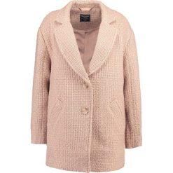 Kurtki i płaszcze damskie: Abercrombie & Fitch NOTCHED OVOID COAT Płaszcz wełniany /Płaszcz klasyczny med pink