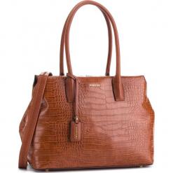 Torebka PUCCINI - BT28598 Brąz 2. Brązowe torebki klasyczne damskie marki ARTENGO, z materiału. W wyprzedaży za 223,00 zł.