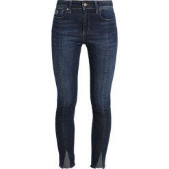 LOIS Jeans CORDOBA SPLIT Jeans Skinny Fit dark stone. Czarne jeansy damskie marki LOIS Jeans, z bawełny. Za 549,00 zł.