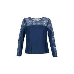 Bluzki Vero Moda  FELICIA. Szare bluzki na imprezę marki Vero Moda, l, z bawełny, casualowe. Za 103,20 zł.